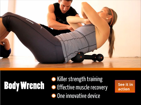 Body Wrench offers killer strength training and effective muscle recovery all in one innovative device.